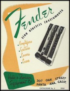 Fender Catalogue