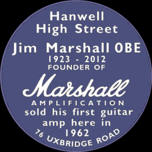 Jim Marshall Blue Plaque