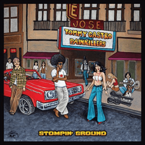 TOMMY CASTRO STOMPIN' GROUND